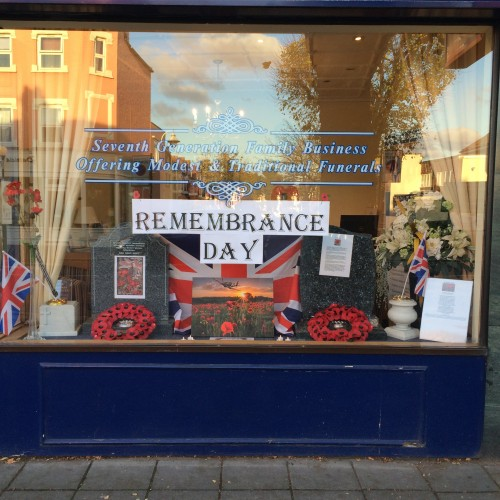 Remembrance Day at Ealing Branch