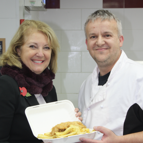 'Feel Good Friday' Fish & Chip Fundraiser at Burpham Branch