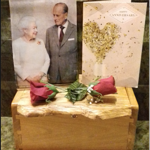 Yiewsley Branch Commemorates the Queen & Prince Philip's 70th Wedding Anniversary