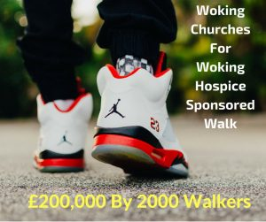 Woking Churches for Woking Hospice Sponsored Walk