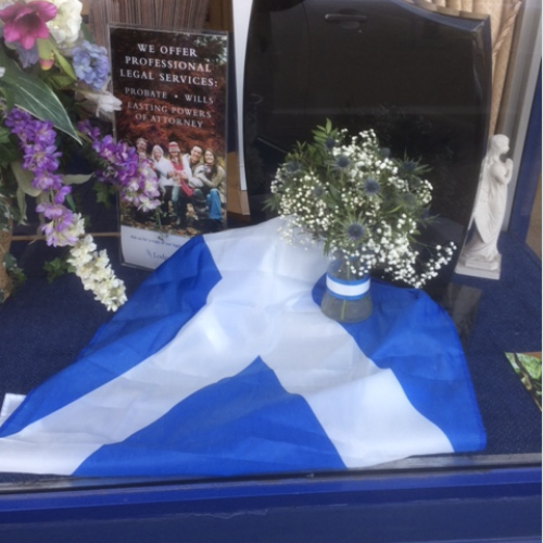 Scotland the Brave! St Andrew's Day at Ashford Branch