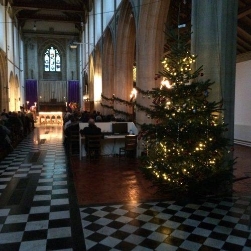 Christmas Memorial Service at St Faith's Church Brentford