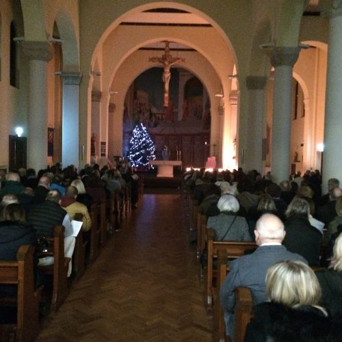 Christmas Service at St Lawrence RC Church Feltham