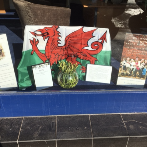 St David's Day at Ascot Branch