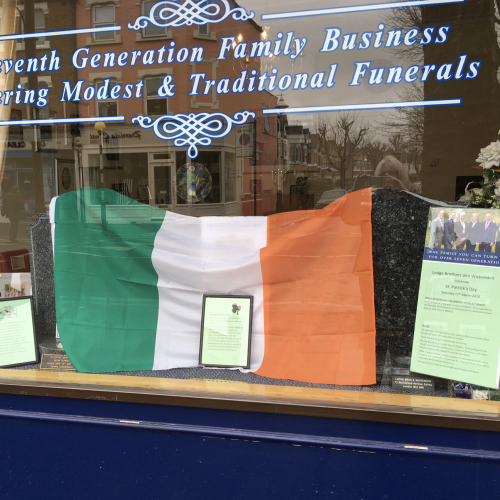 St Patrick's Day Marked at Ealing Branch