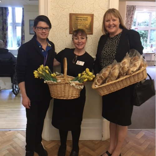 Easter Treats for Southborough and Hamilton Care Homes
