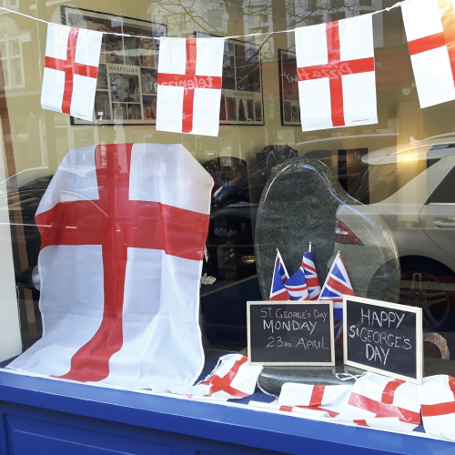 Wishing Surbiton a Happy St George's Day