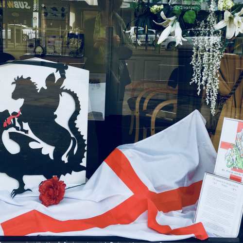 Hanworth Branch Celebrates St George's Day