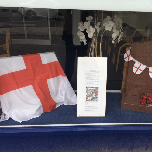 St George's Day at Brentford Branch