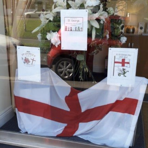 St George's Day in Esher