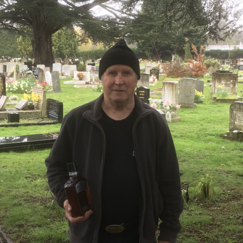 Burvale Cemetery – Tony Hemsley Retires