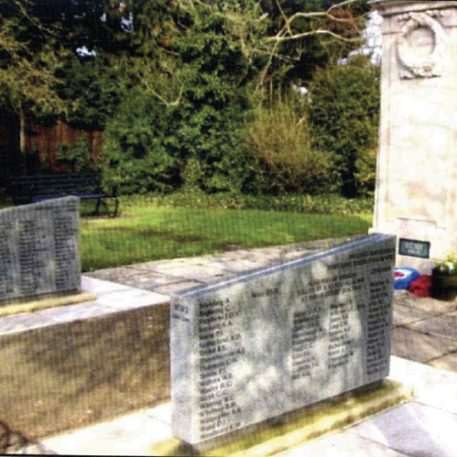 Lodge Brothers Masonry Work in West Molesey War Memorial
