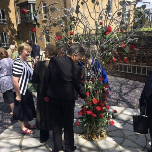 Remembrance Tree at Maryville Convent