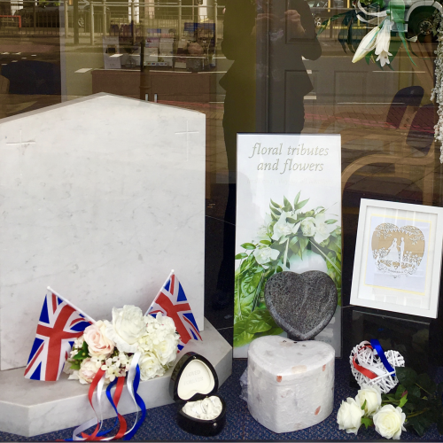 Flowers and Flags for the Royal Wedding