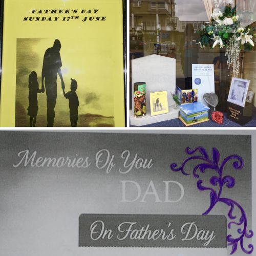 Fathers Day – Sunday 17th June