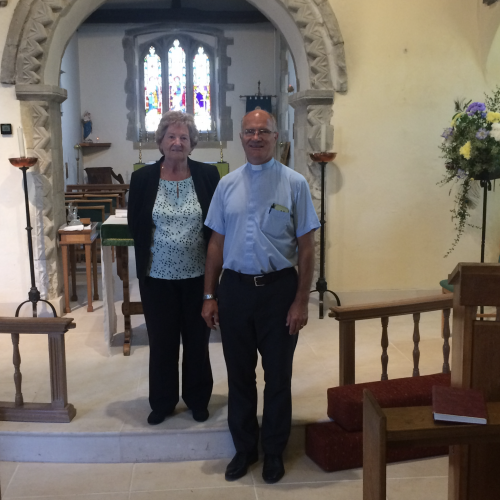 Lodge Brothers Support Fundraising for New Floor at St Mary's