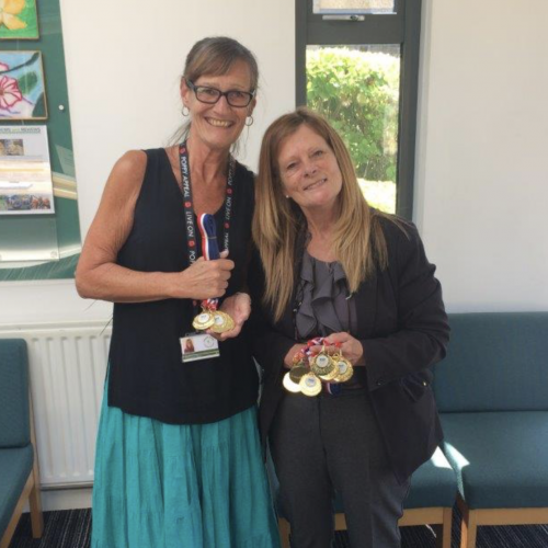 Excellent Attendance Medals for Crane Park School