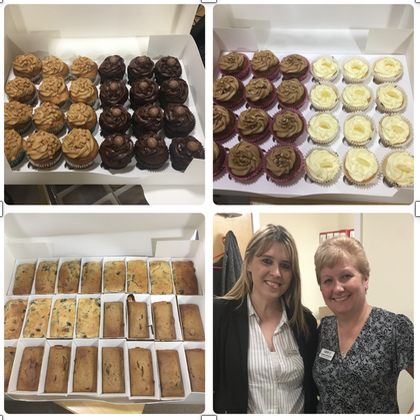 Cakes for The Burroughs Care Home Summer Fete