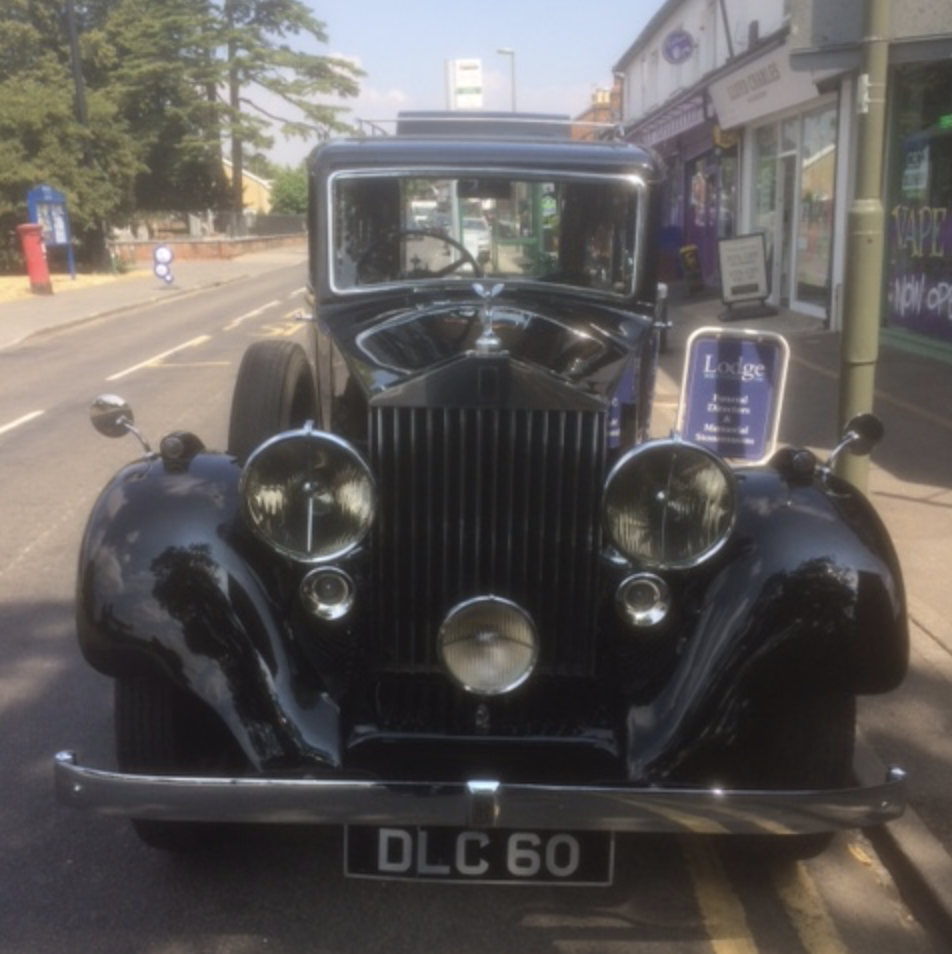 Classic Car for a Classic Man