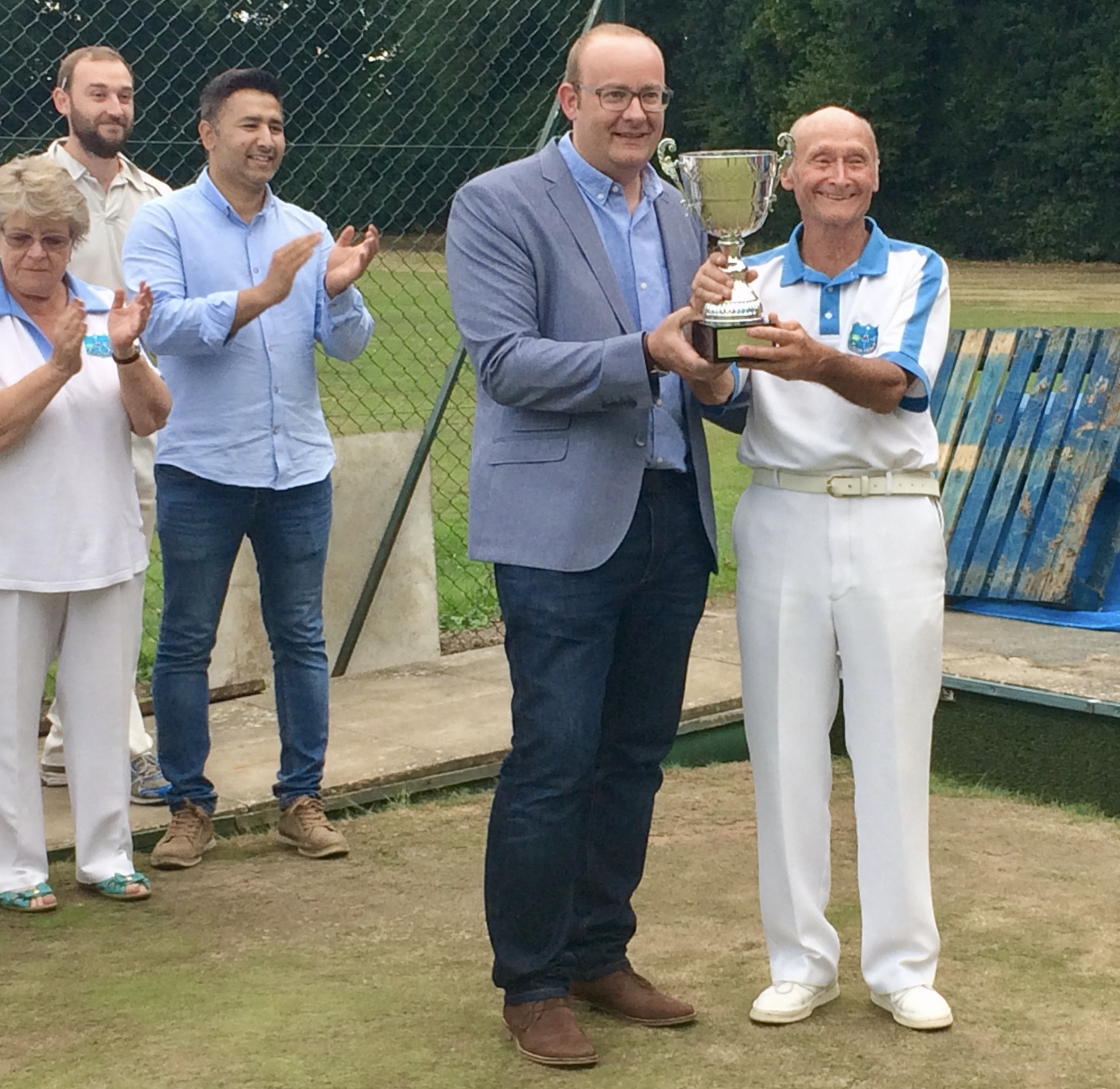 Lodge Brothers Sponsor the 'Jack and Bails' Cup Match at Westfield Bowls Club
