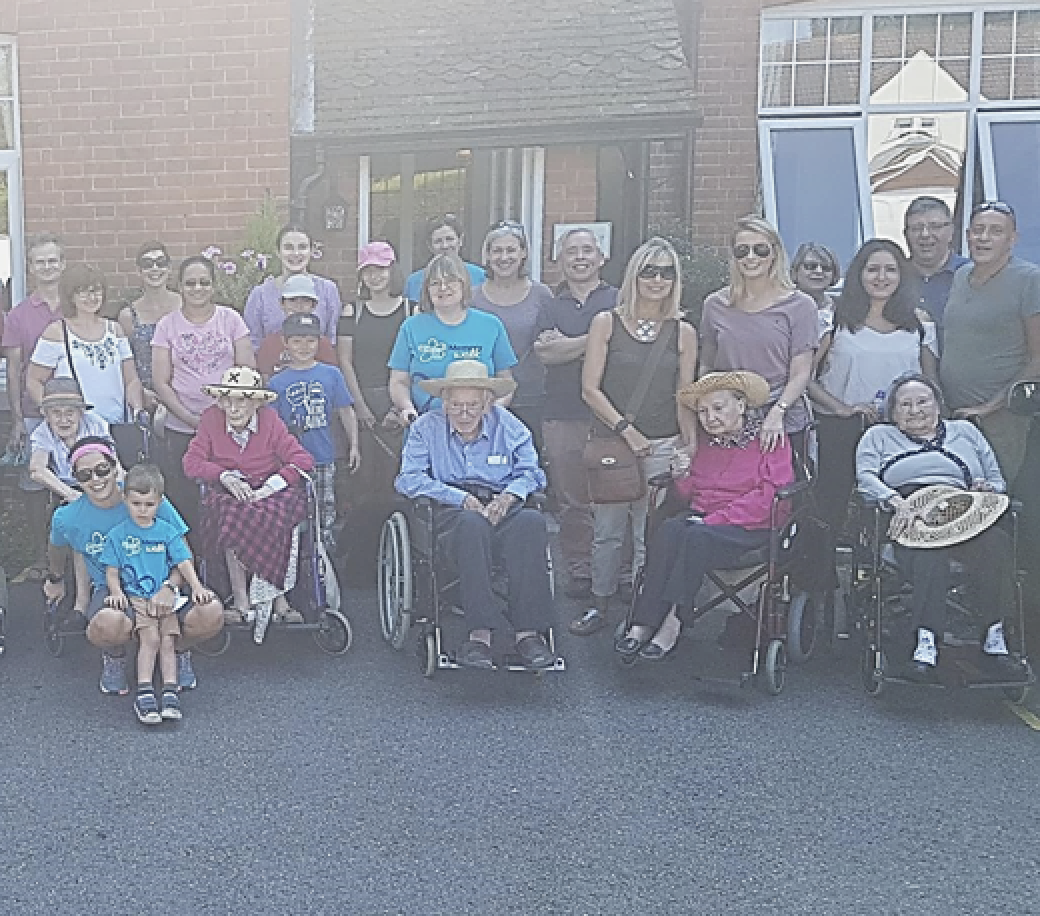 Springfield House Care Home Memory Walk