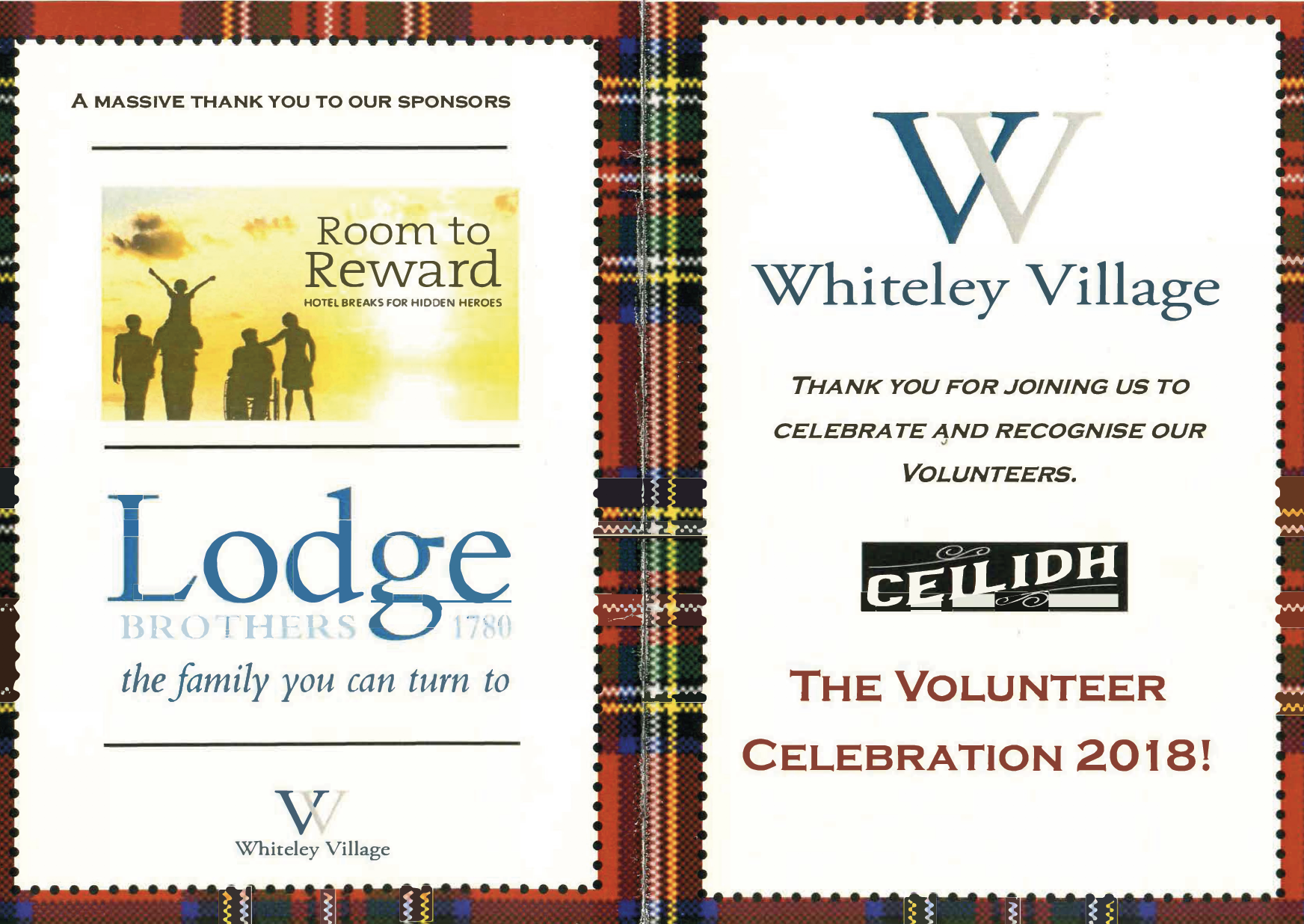 Whiteley Village Volunteer Celebration Dinner