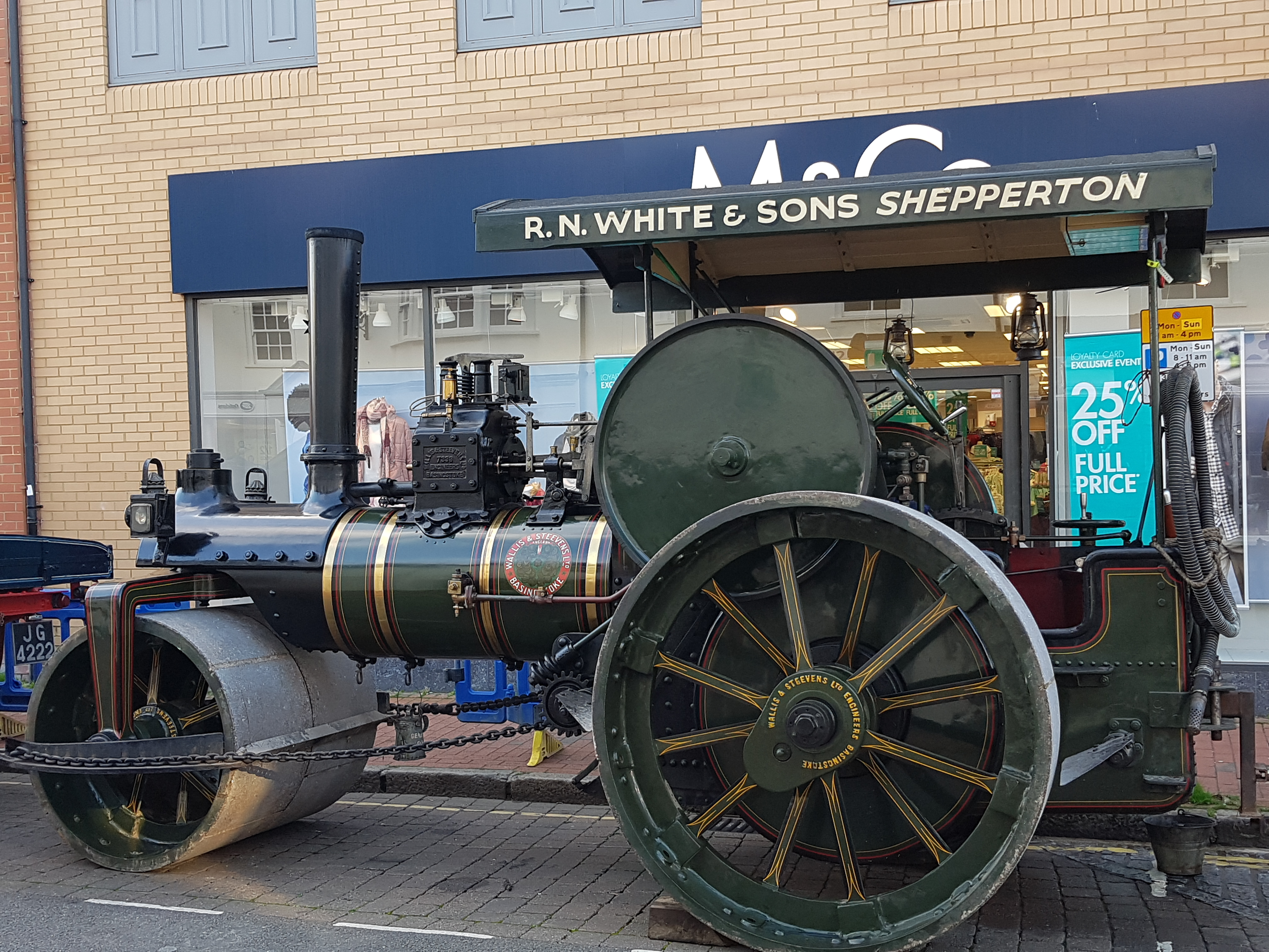 Steam Engine Enthusiast Has His Wish