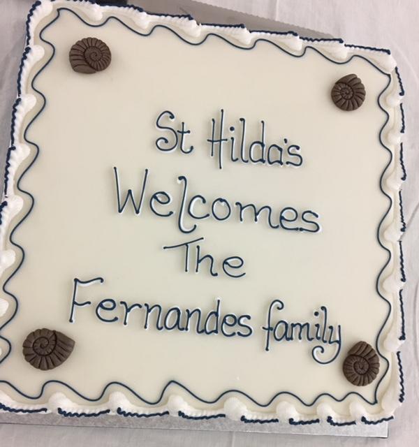 St Hilda's Welcomes New Vicar Reverend Joesph Fernandes