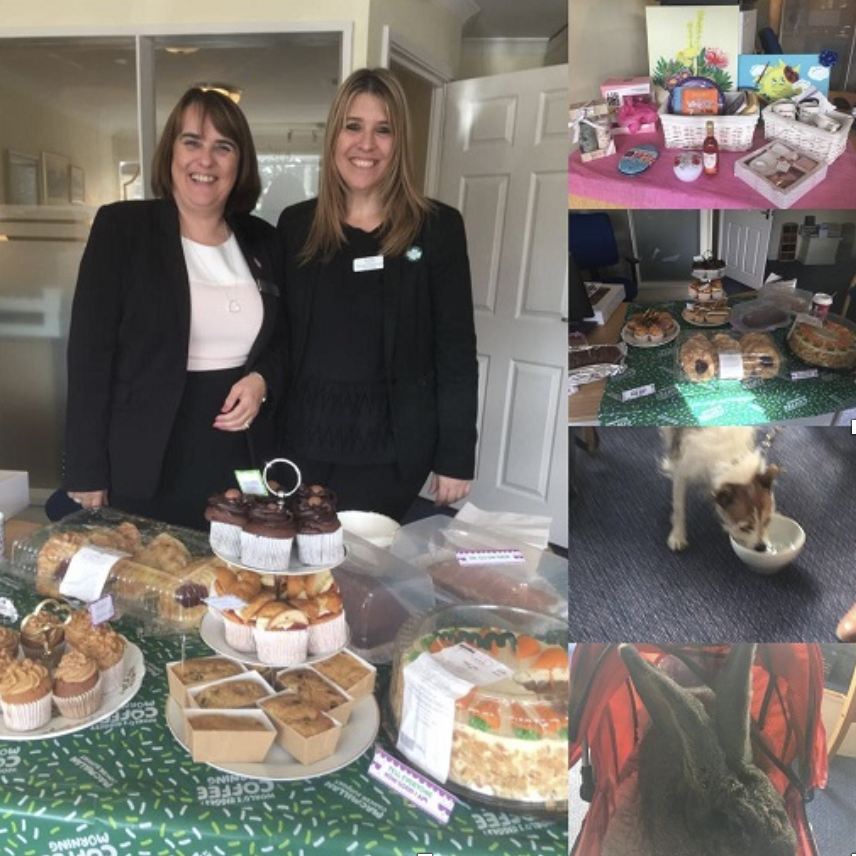 Macmillan Coffee Morning at Lodge Brothers Northolt