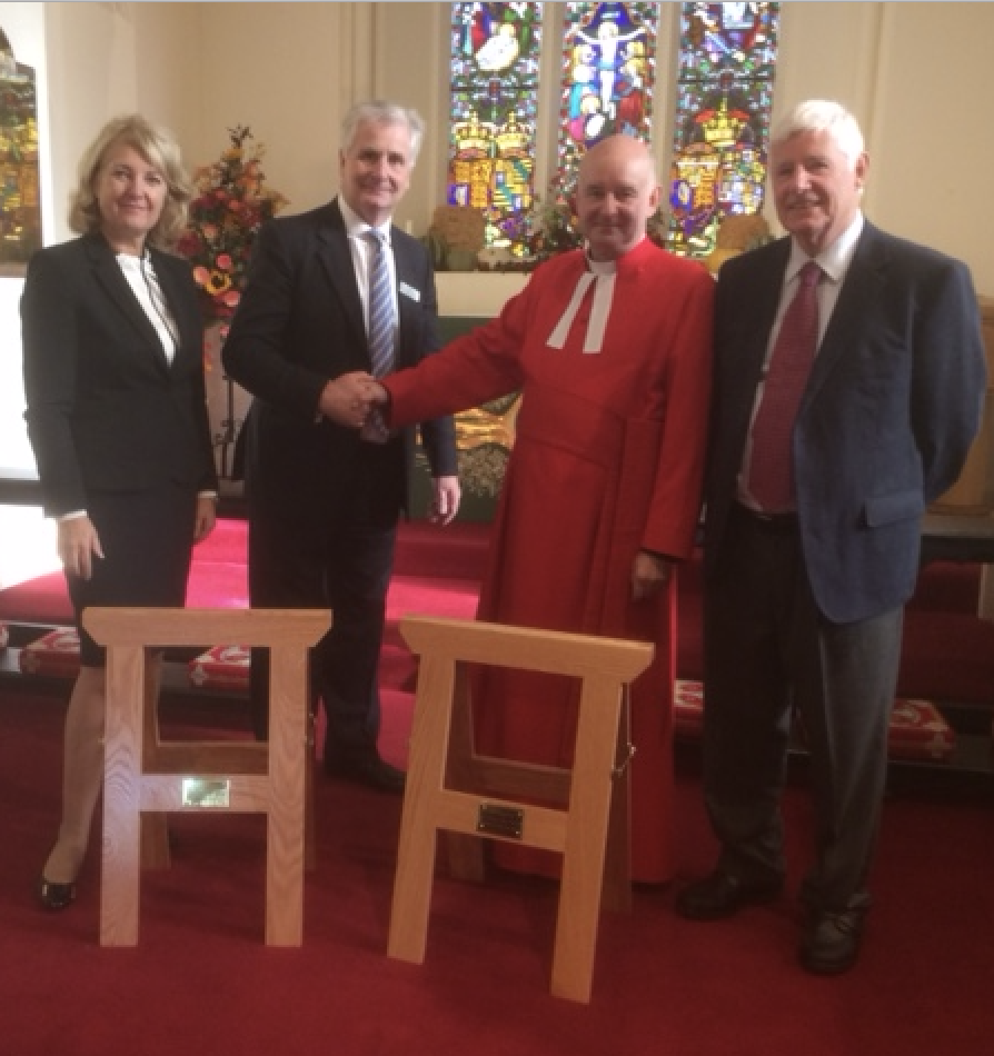 Trestles for The Royal Chapel, Windsor