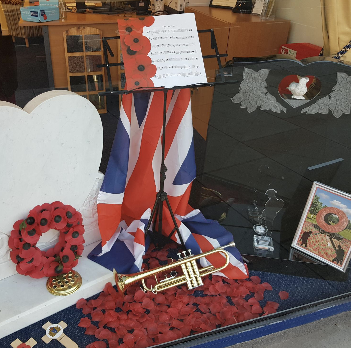 Musical Theme for Twickenham Branch Remembrance Window
