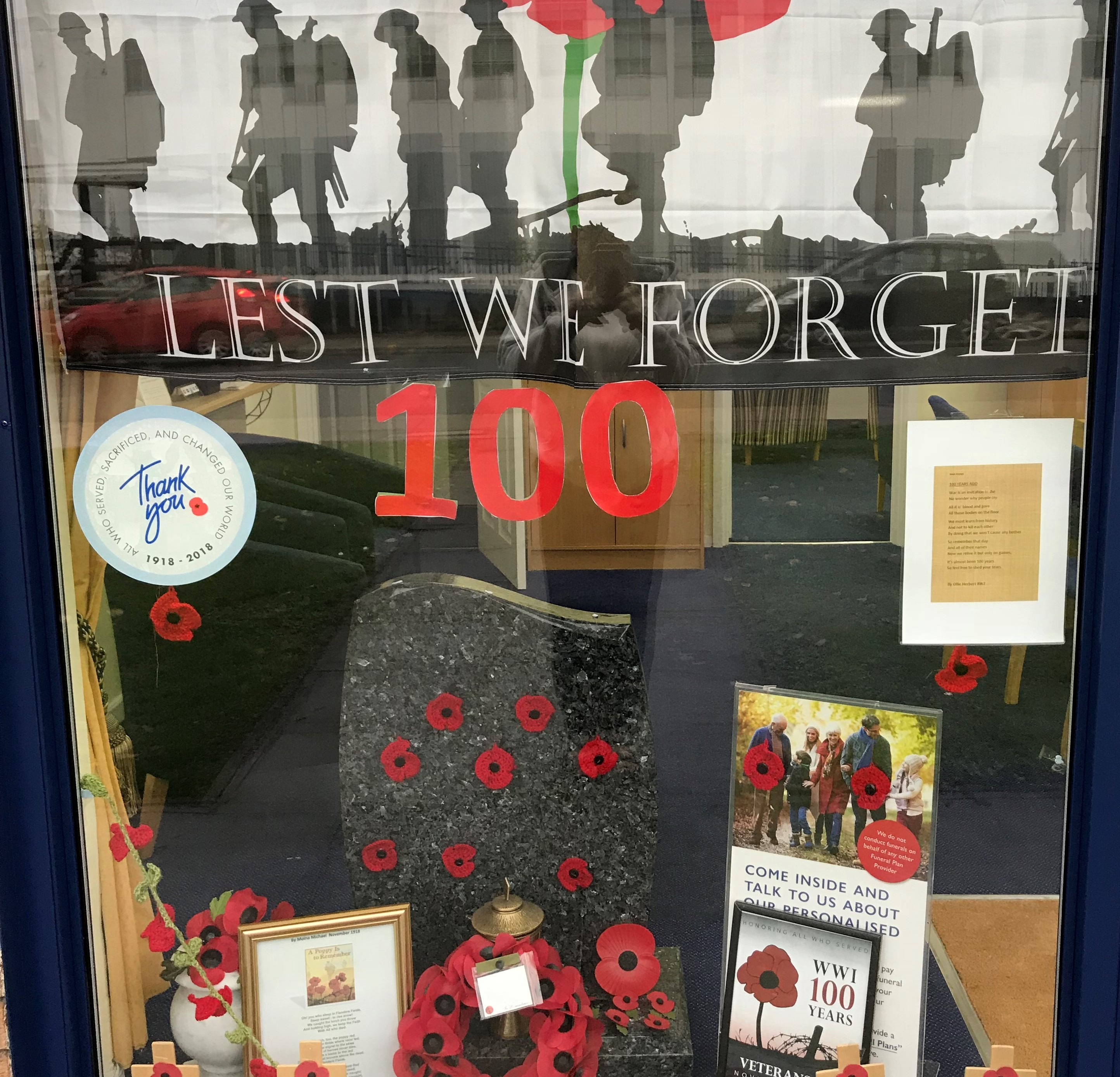 Remembrance at Brentford