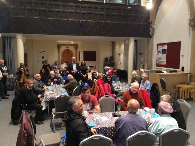Lodge Brothers Donate to St Pauls Over 50s Lunch Club