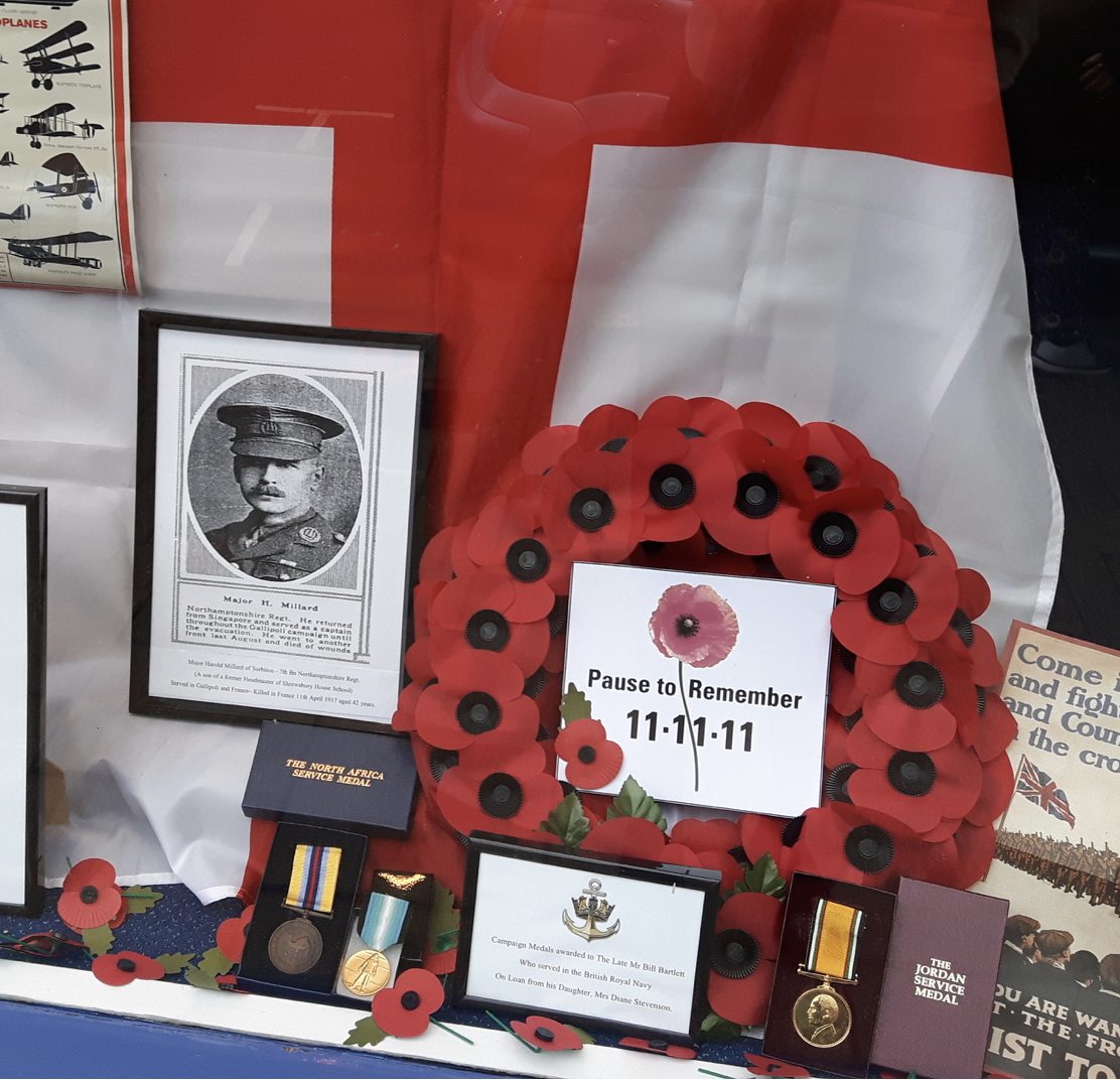 Surbiton Resident Lends Lodge Brothers Medals for Display