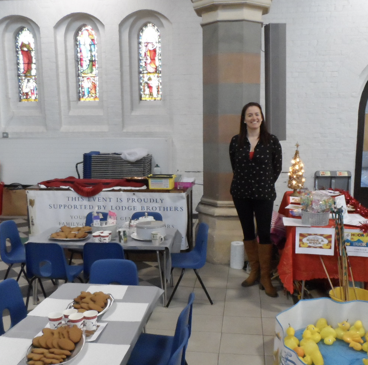 Lodge Brothers at St Andrew's Church Christmas Fair