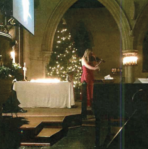 St Mary Oatlands Christmas Remembrance Service