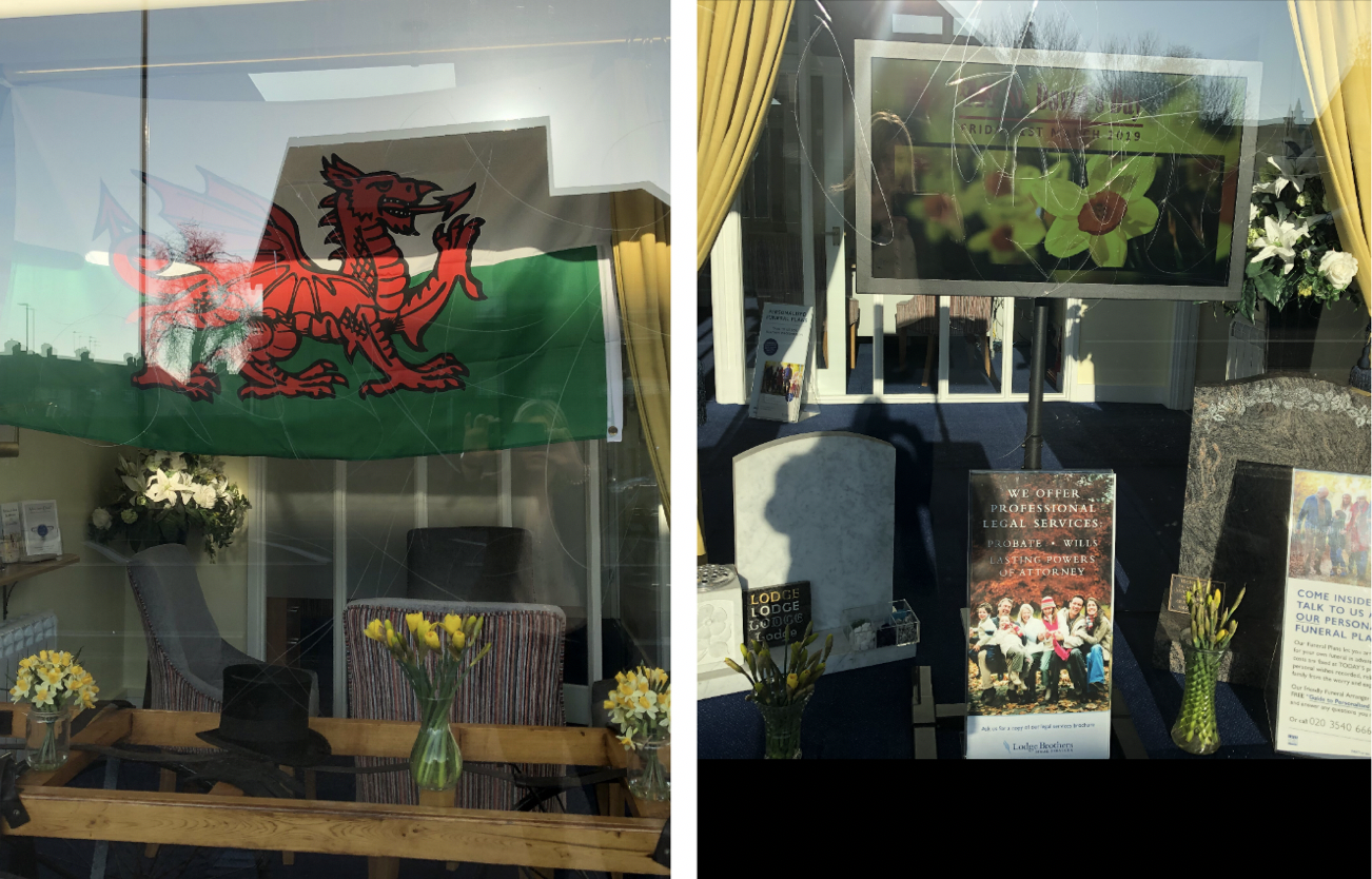 St David's Day Preparations at Feltham Branch