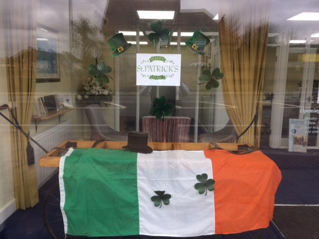Feltham Branch Commemorates St Patricks Day