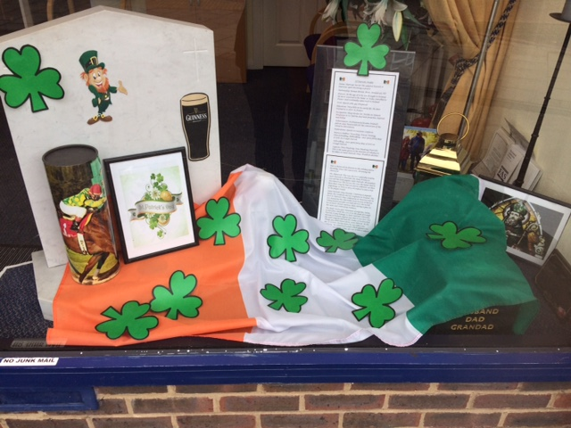 Happy St Patrick's Day from Hanworth Branch