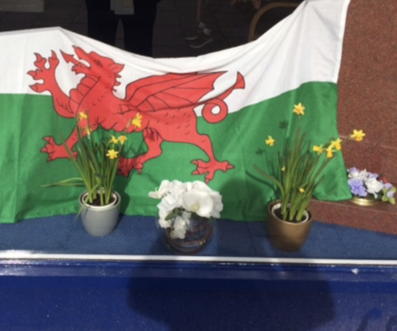 Bedfont Branch Commemorates St David's Day