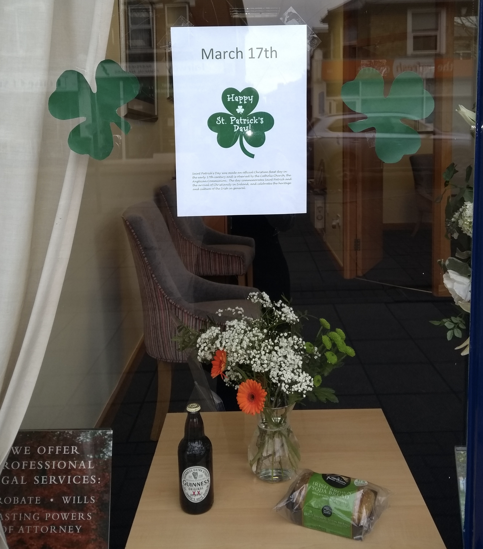 East Molesey Wish Everyone a Happy St Patrick's Day