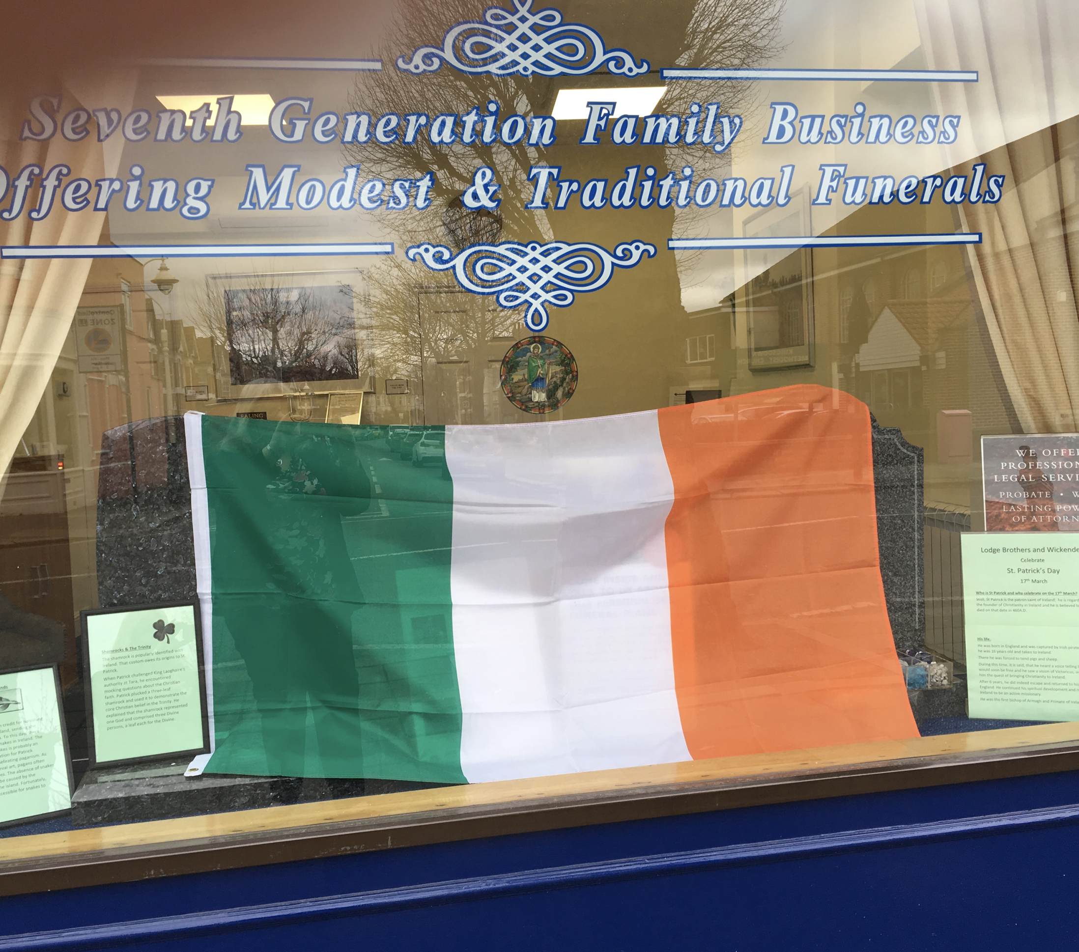 Happy St Patrick's Day from Ealing Branch