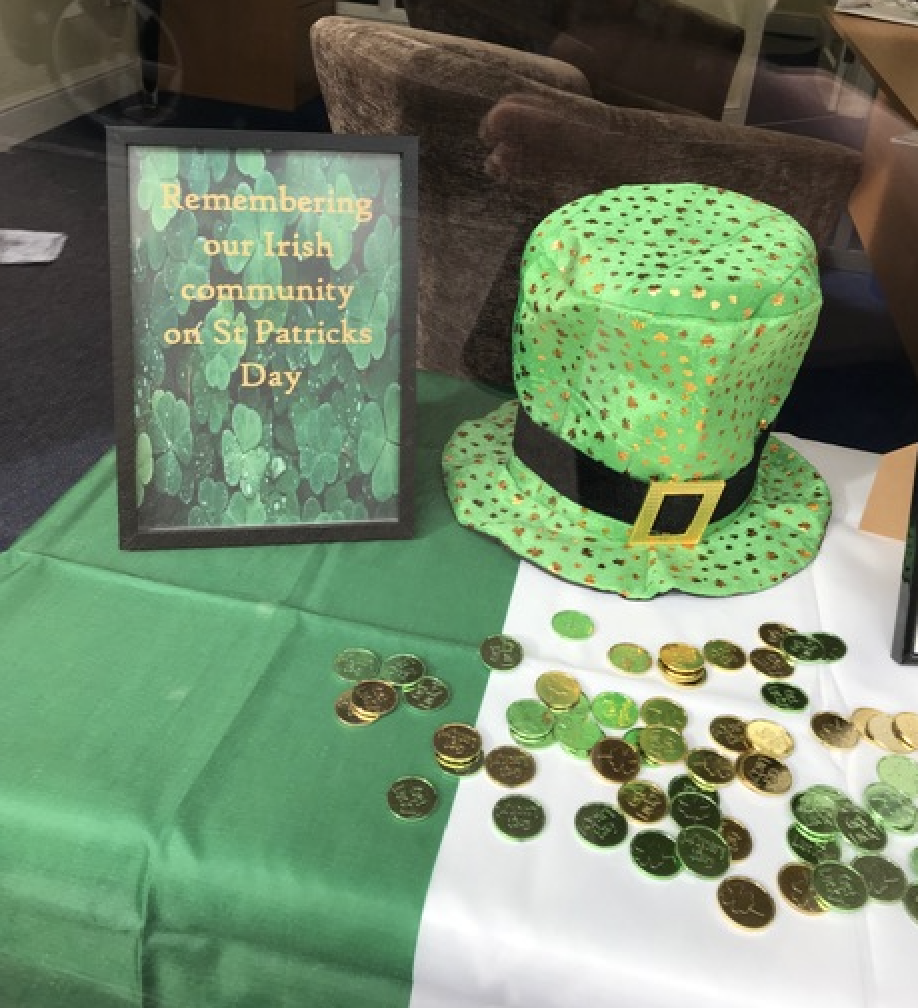 St Patrick's Day Recognised