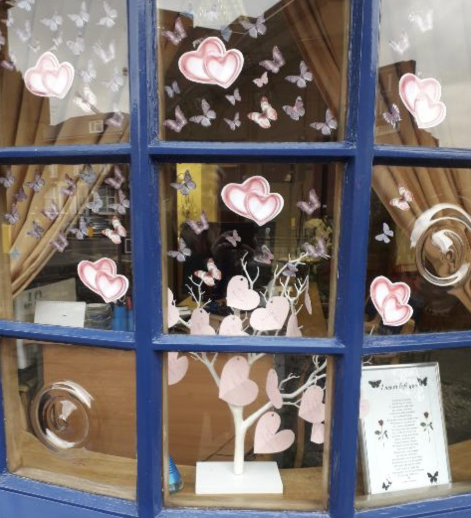 Mother's Day Memory Tree at Hounslow Branch