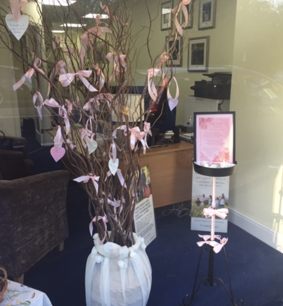 Mothers' Day Memory Tree and Seeds to Plants at Ascot Branch