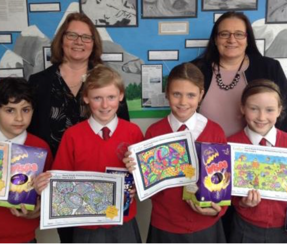 Colouring Competition with Ascot Heath Primary School