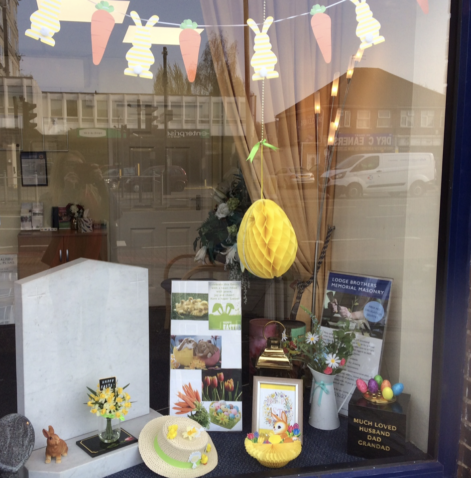 Easter Comes to Hanworth Branch