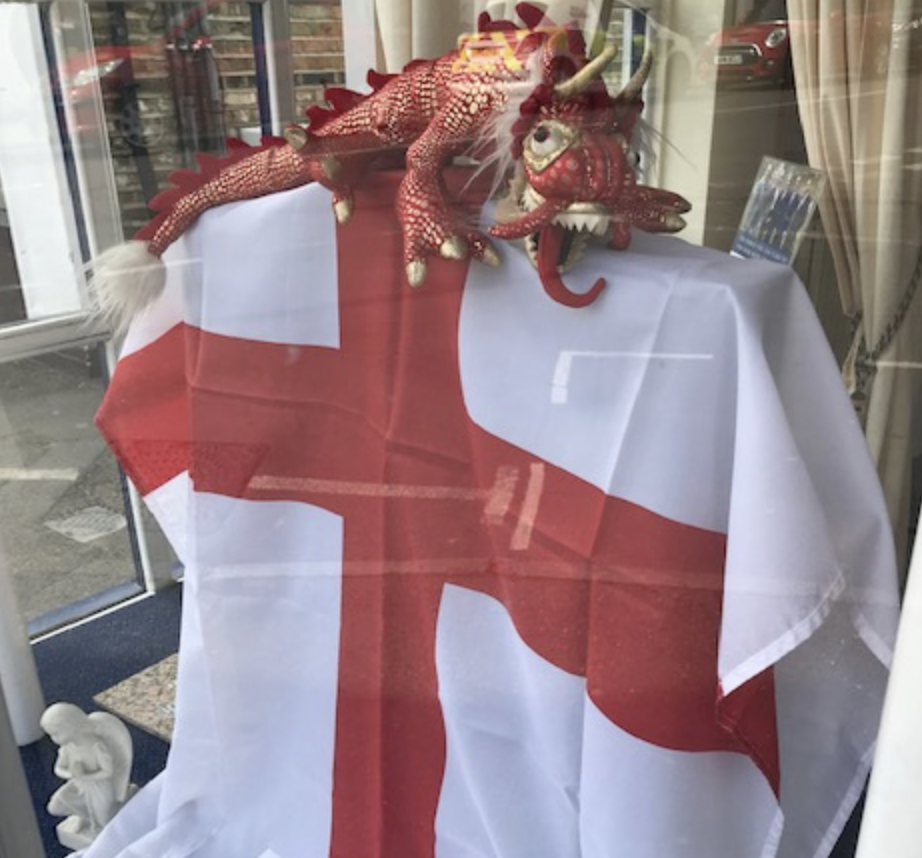 St George's Day Greetings from Thames Ditton