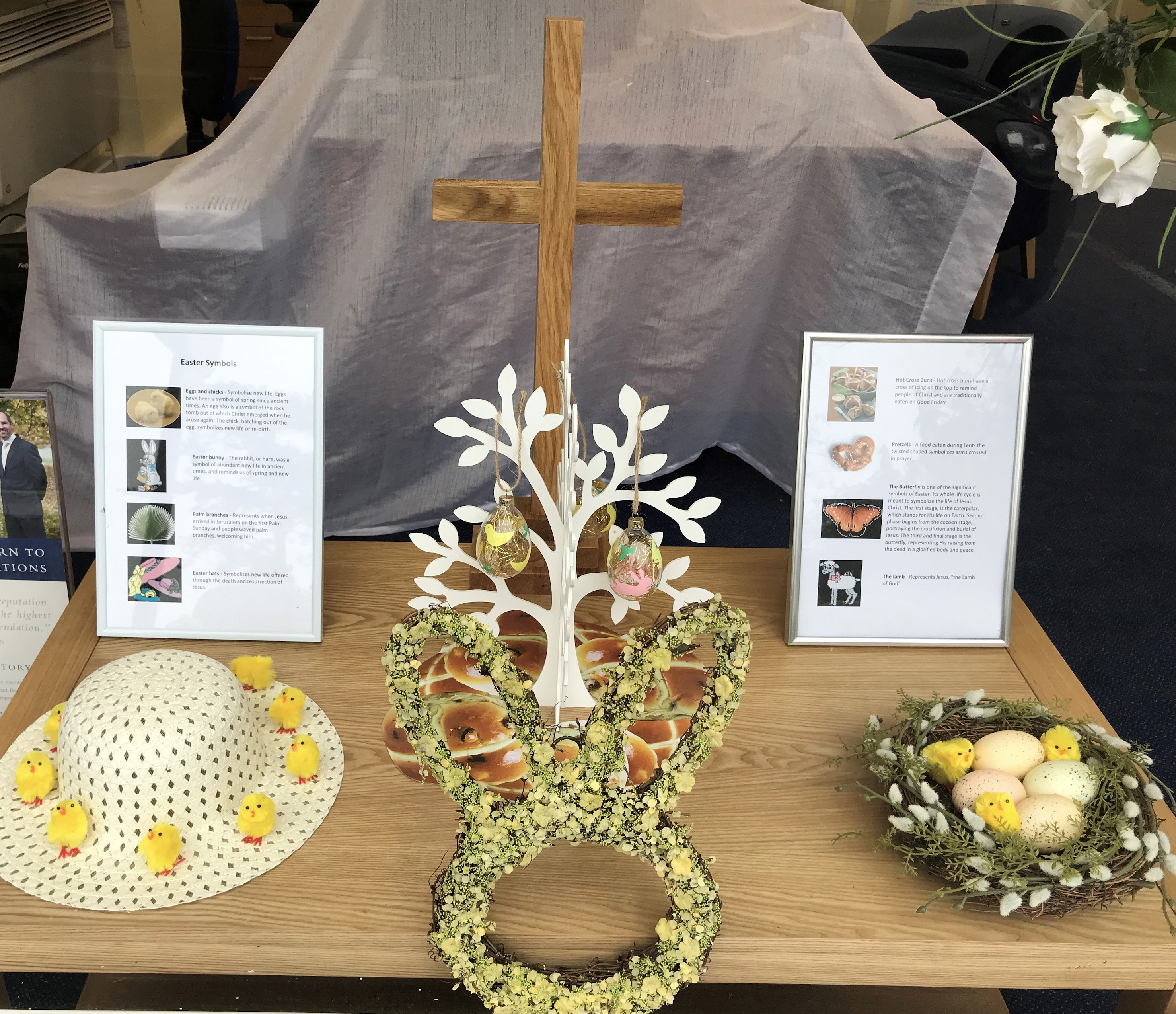 Traditional Easter Symbols Explained at Burpham Branch