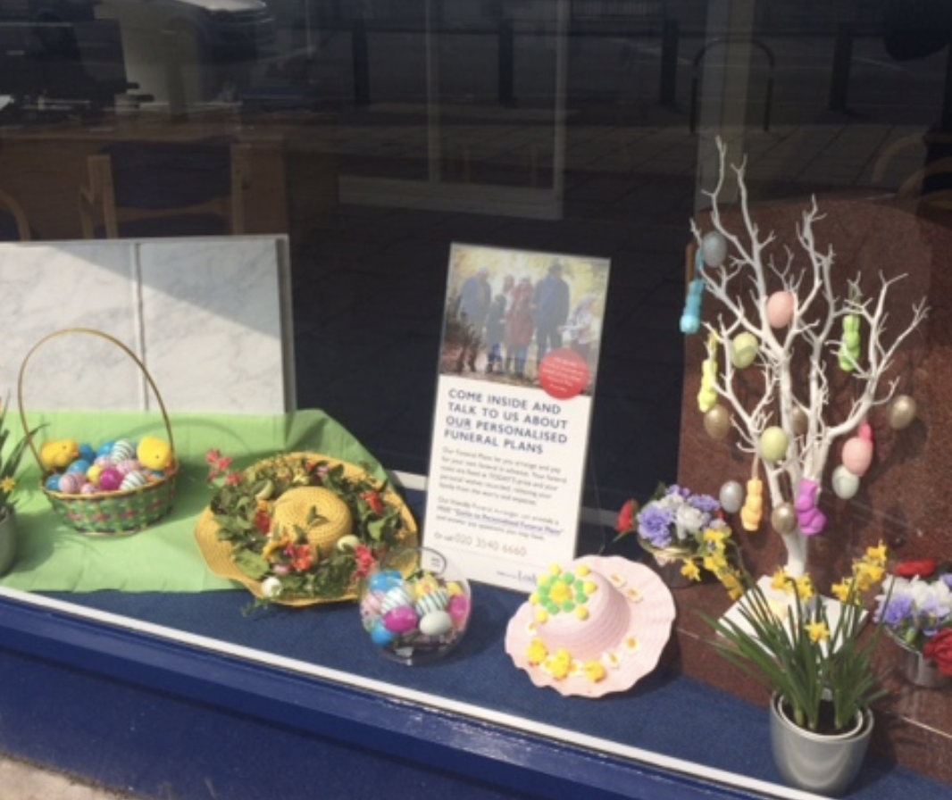Bedfont Branch Easter Wishes